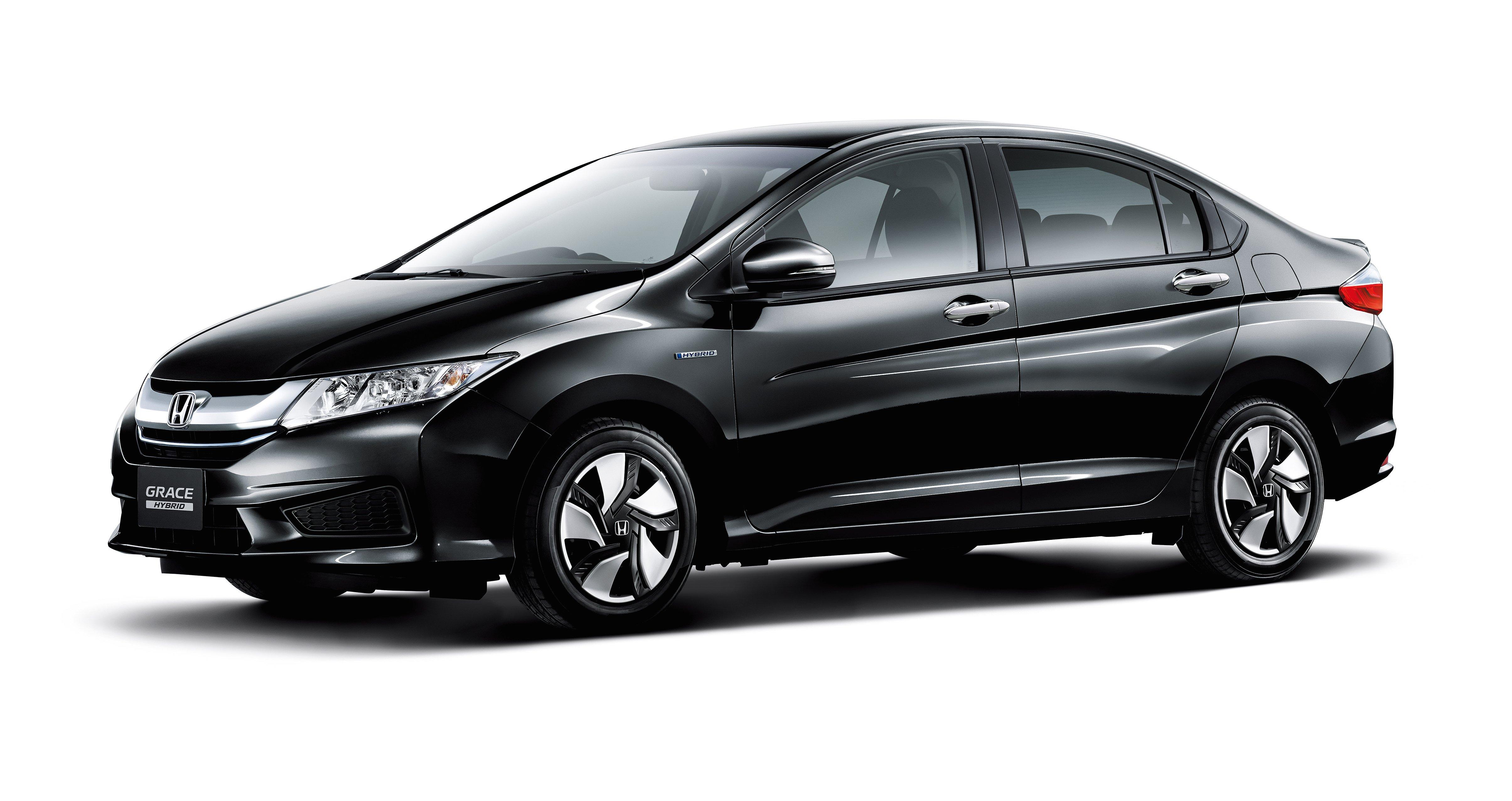 Honda City Hybrid Unveiled In Japan As Honda Grace Image