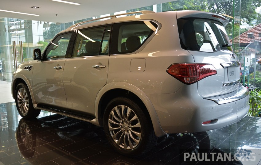 Infiniti QX80 now in Malaysia, 5.6 V8 SUV on sale 2015 Image #291605