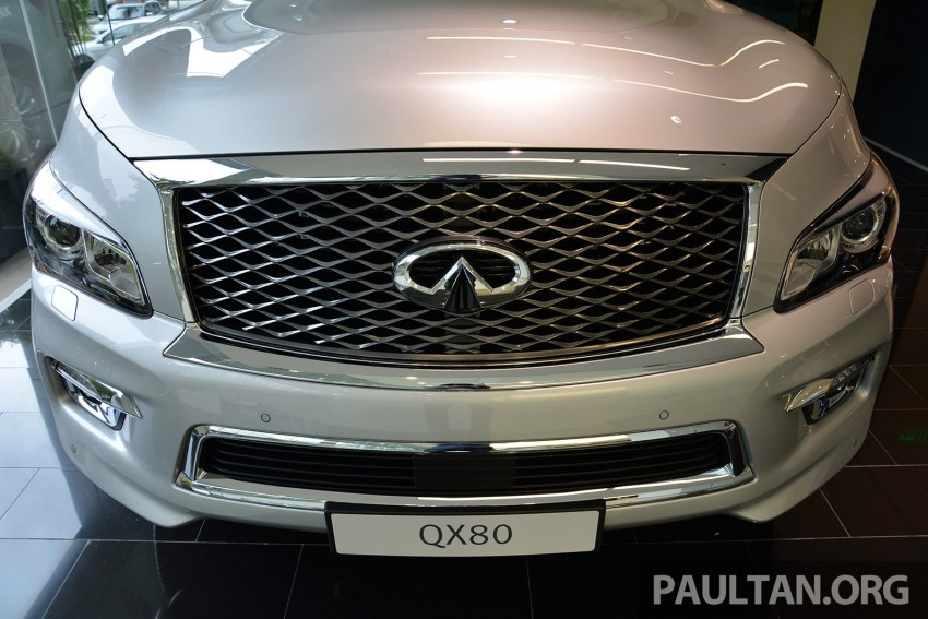 Infiniti QX80 now in Malaysia, 5.6 V8 SUV on sale 2015 Image #291606