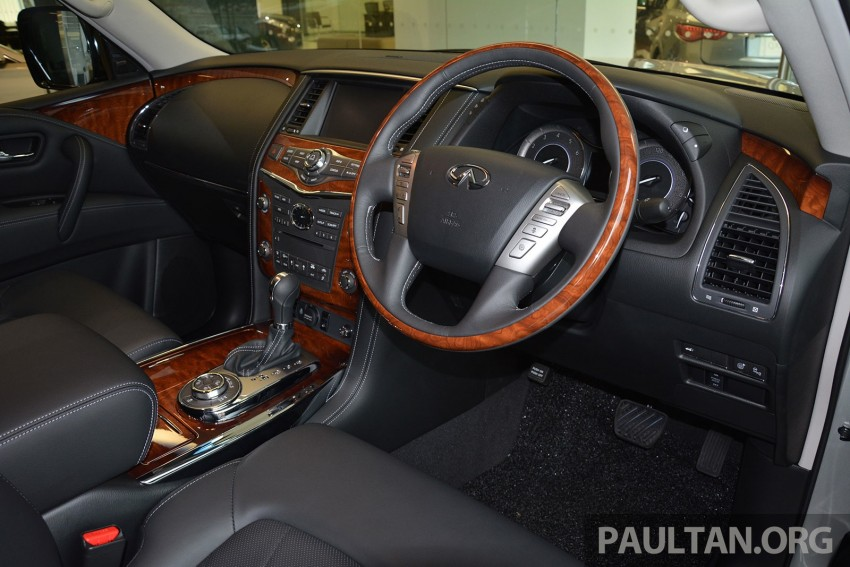 Infiniti QX80 now in Malaysia, 5.6 V8 SUV on sale 2015 Image #291617