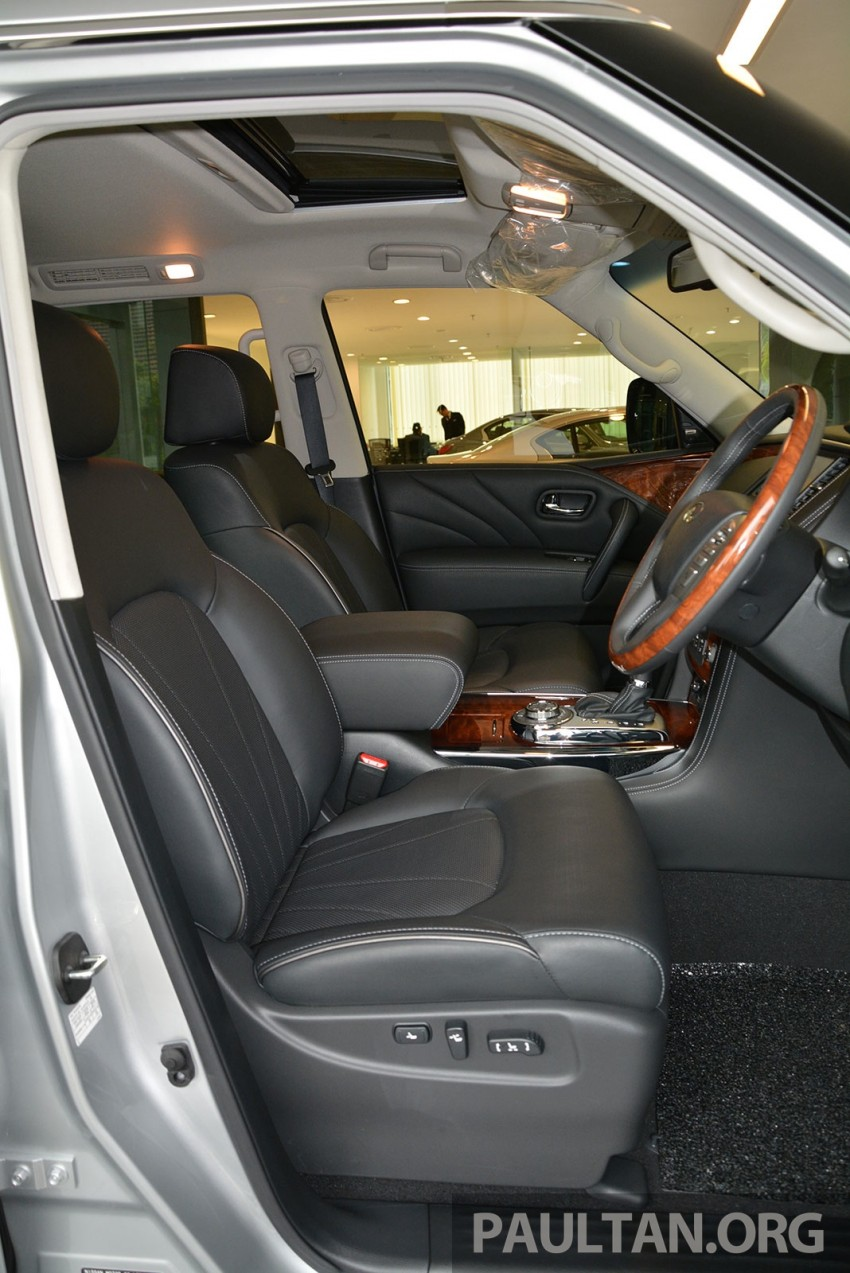 Infiniti QX80 now in Malaysia, 5.6 V8 SUV on sale 2015 Image #291620