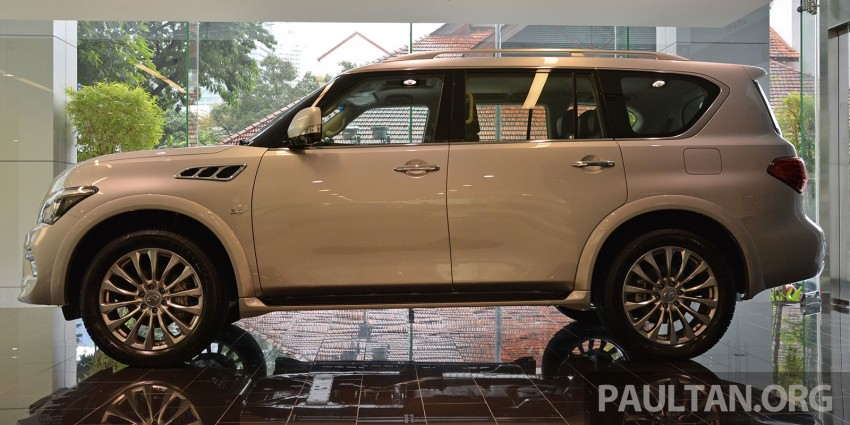 Infiniti QX80 now in Malaysia, 5.6 V8 SUV on sale 2015 Image #291596
