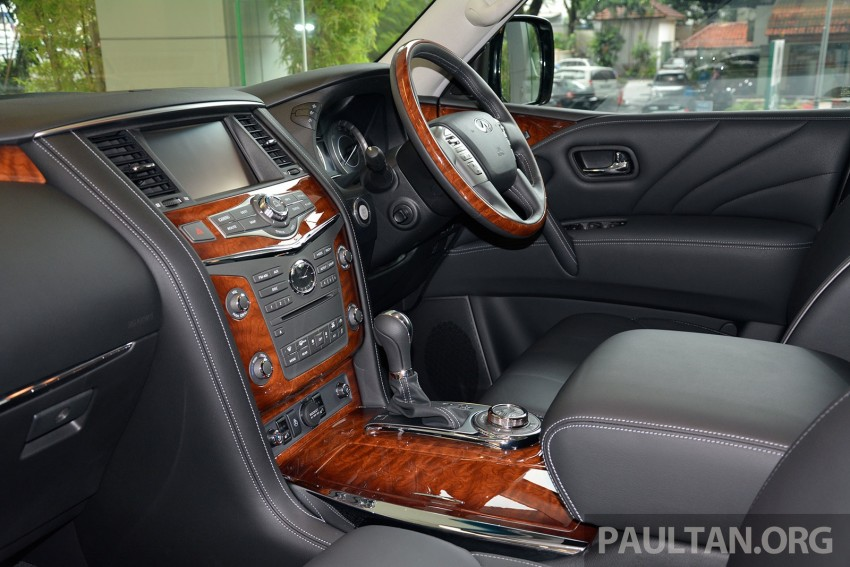 Infiniti QX80 now in Malaysia, 5.6 V8 SUV on sale 2015 Image #291625