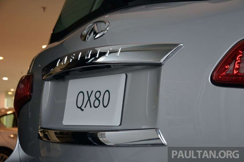 Infiniti QX80 now in Malaysia, 5.6 V8 SUV on sale 2015 Image #291597