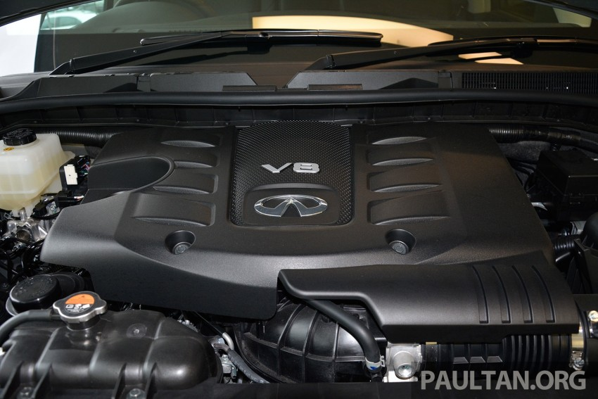 Infiniti QX80 now in Malaysia, 5.6 V8 SUV on sale 2015 Image #291639