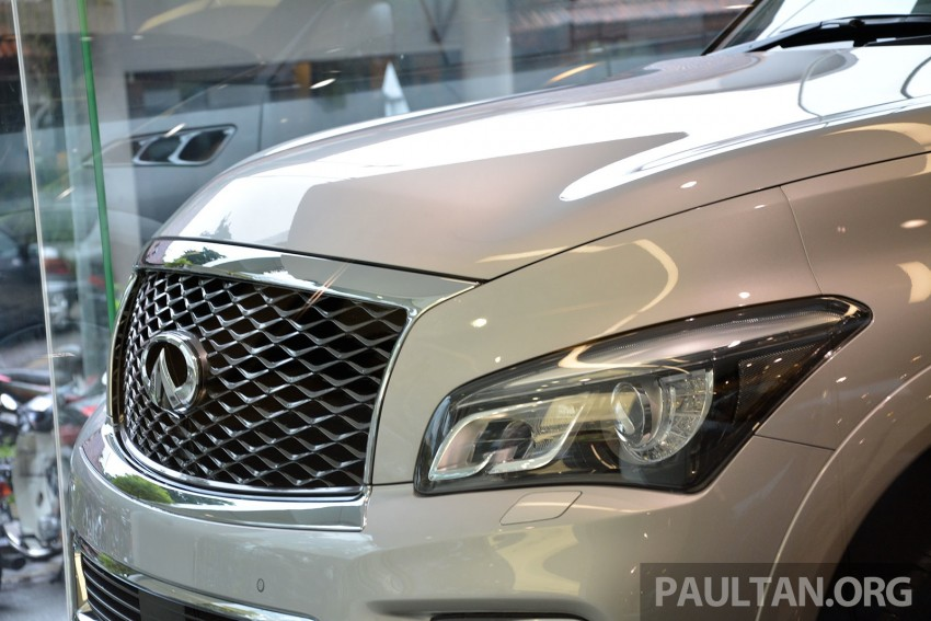 Infiniti QX80 now in Malaysia, 5.6 V8 SUV on sale 2015 Image #291640