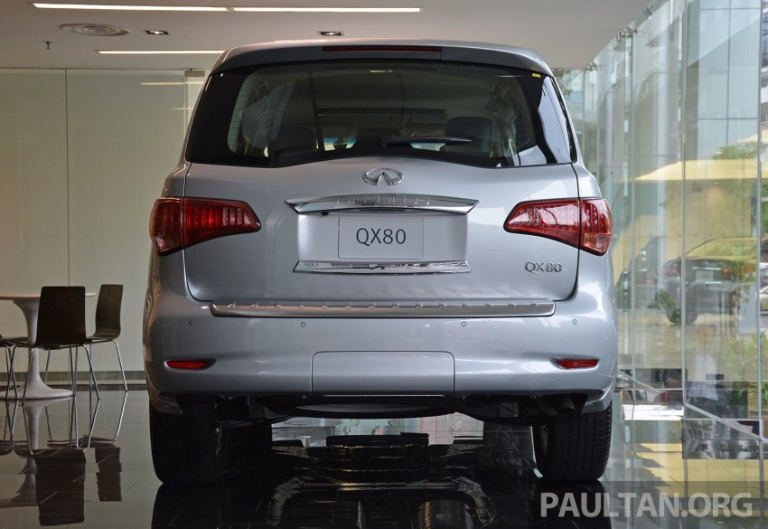 Infiniti QX80 now in Malaysia, 5.6 V8 SUV on sale 2015 Image #291602