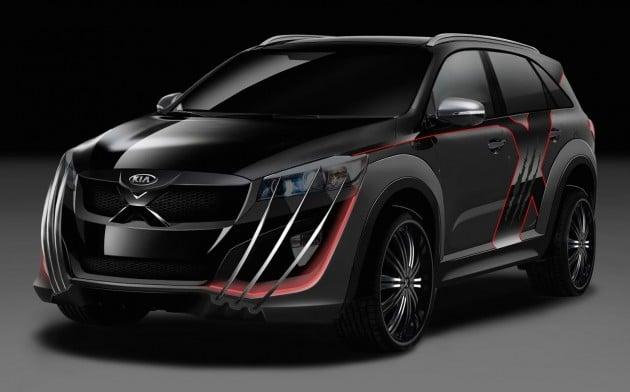 Kia Sorento Revealed As Wolverine S New Company Car