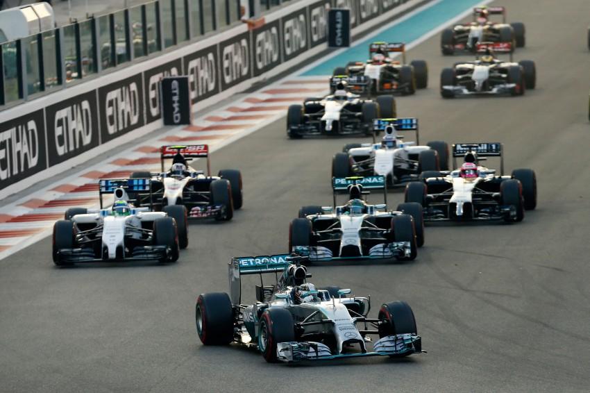Lewis Hamilton wins second Formula 1 drivers' title as Mercedes AMG Petronas dominates the 2014 season Image #290709