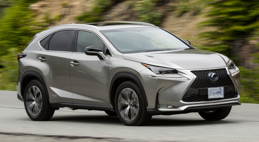 DRIVEN: Lexus NX 200t SUV tested in British Columbia Image #286416