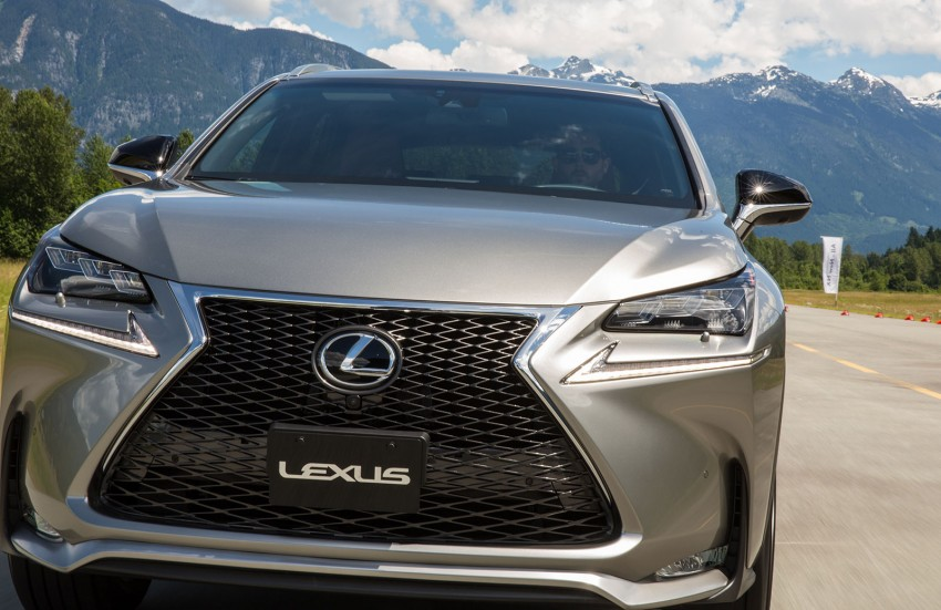 DRIVEN: Lexus NX 200t SUV tested in British Columbia Image #286417