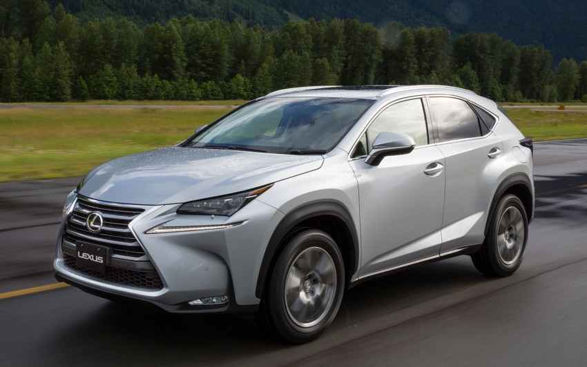 DRIVEN: Lexus NX 200t SUV tested in British Columbia Image #286418