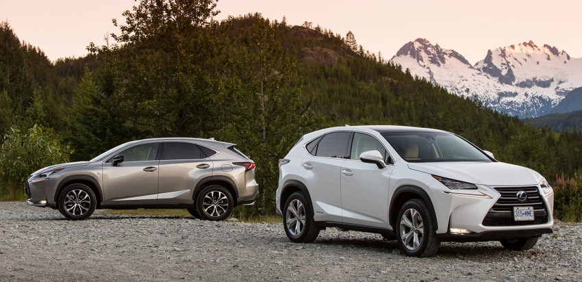 DRIVEN: Lexus NX 200t SUV tested in British Columbia Image #286419