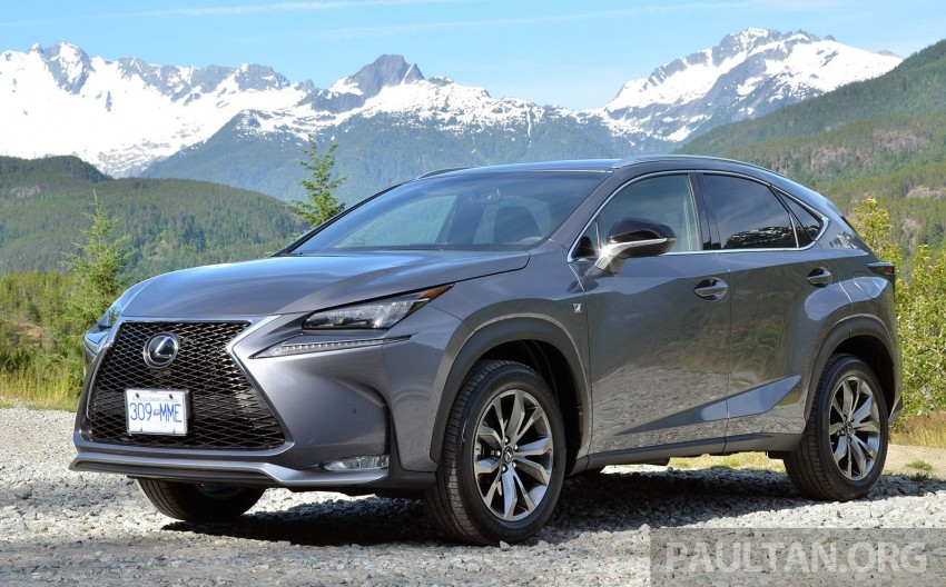 DRIVEN: Lexus NX 200t SUV tested in British Columbia Image #285828