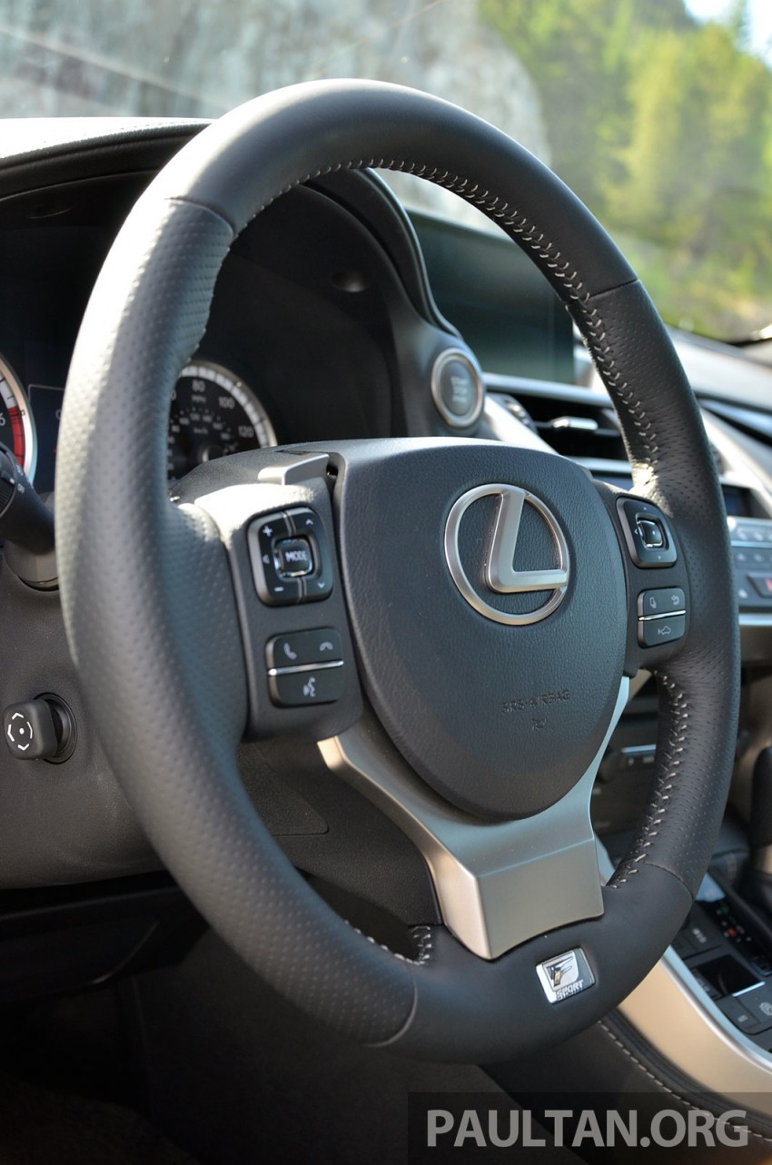 DRIVEN: Lexus NX 200t SUV tested in British Columbia Image #285840