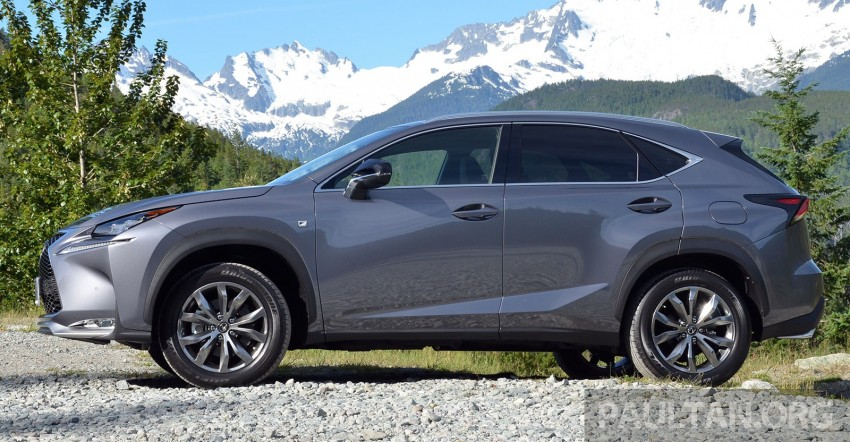 DRIVEN: Lexus NX 200t SUV tested in British Columbia Image #285829