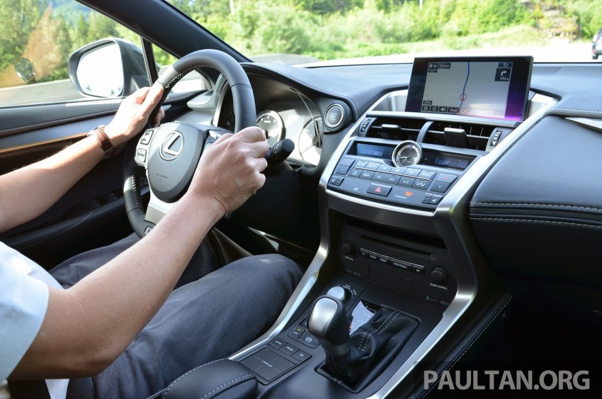 DRIVEN: Lexus NX 200t SUV tested in British Columbia Image #285853