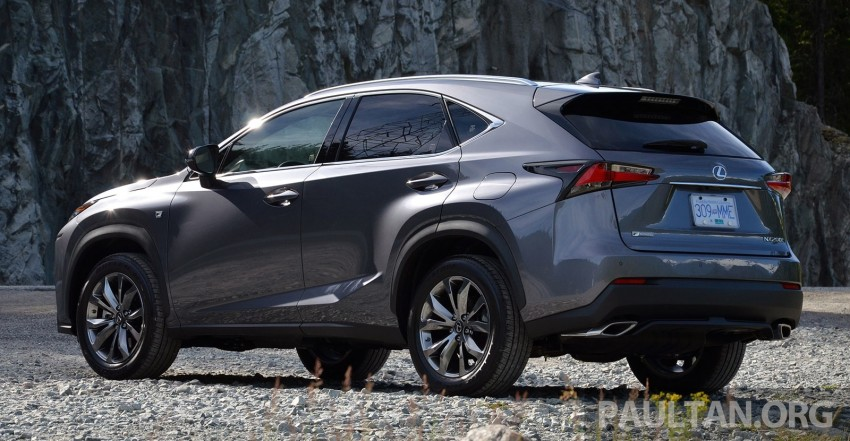 DRIVEN: Lexus NX 200t SUV tested in British Columbia Image #285830