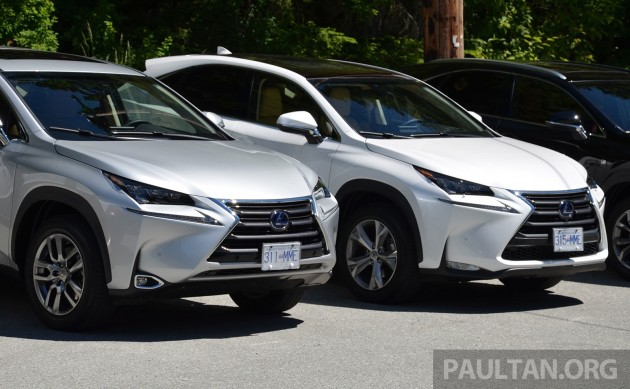 Lexus Nx Vs Rx >> Driven Lexus Nx 200t Suv Malaysian Review