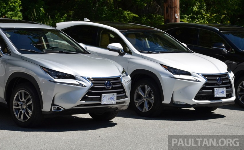 DRIVEN: Lexus NX 200t SUV tested in British Columbia Image #285873