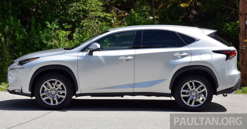 DRIVEN: Lexus NX 200t SUV tested in British Columbia Image #285874