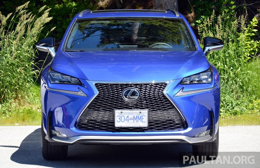 DRIVEN: Lexus NX 200t SUV tested in British Columbia Image #285875