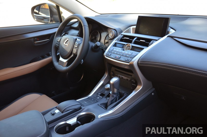 DRIVEN: Lexus NX 200t SUV tested in British Columbia Image #285876