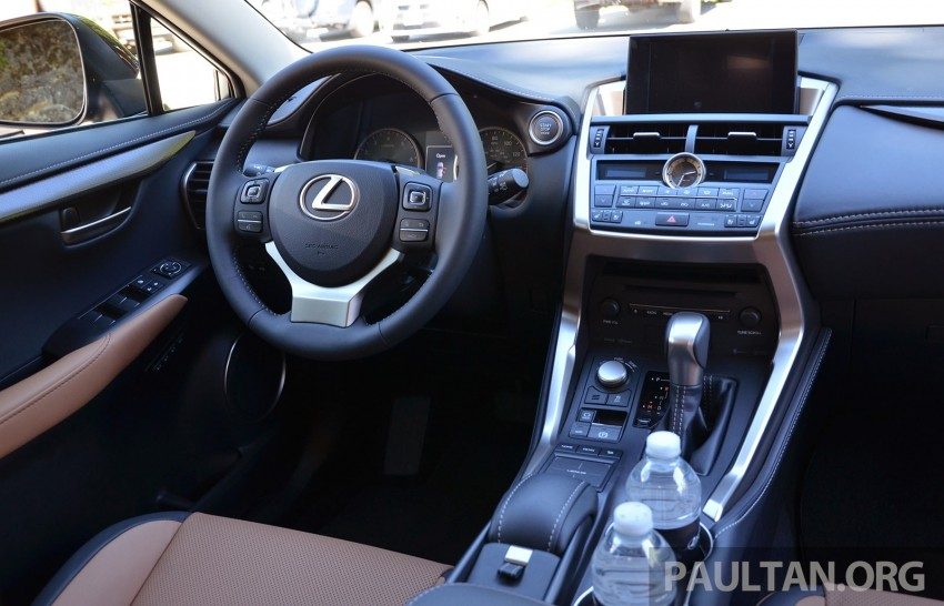 DRIVEN: Lexus NX 200t SUV tested in British Columbia Image #285877