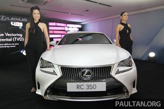 Lexus RC 350 Malaysia 6