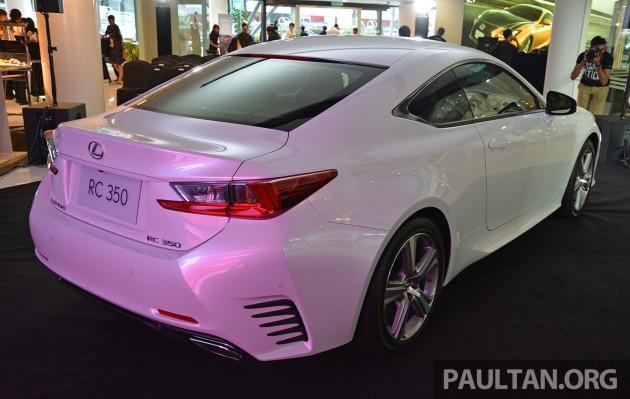 Lexus RC Malaysia Launch 3