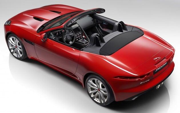 jaguar f type gets manual option 542 hp r cabrio. Black Bedroom Furniture Sets. Home Design Ideas