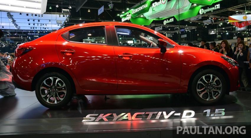 Mazda 2 Sedan unveiled at 2014 Thai Motor Expo! Image #292810
