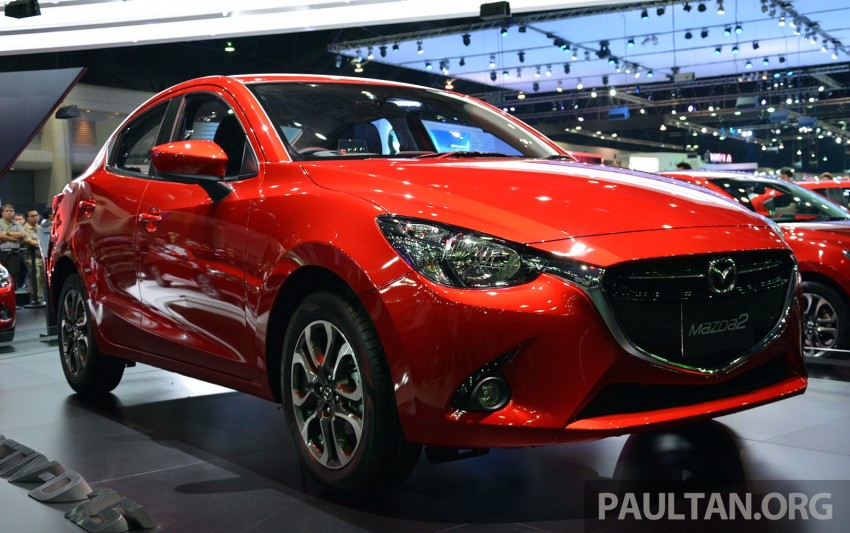 Mazda 2 Sedan unveiled at 2014 Thai Motor Expo! Image #292822
