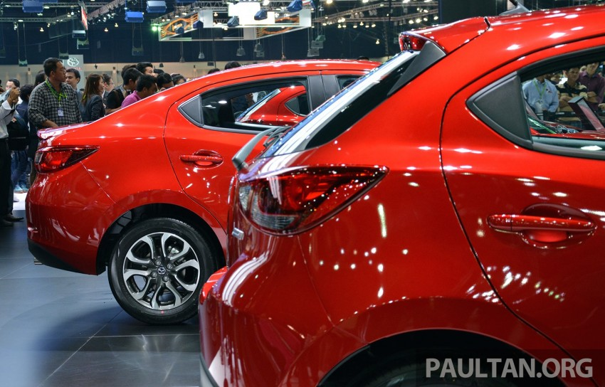 Mazda 2 Sedan unveiled at 2014 Thai Motor Expo! Image #292823