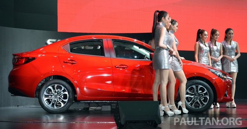 Mazda 2 Sedan unveiled at 2014 Thai Motor Expo! Image #292829