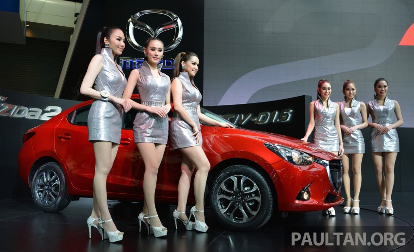 Mazda 2 Sedan unveiled at 2014 Thai Motor Expo! Image #292830