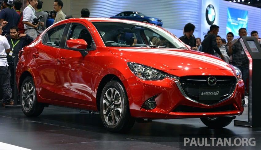 Mazda 2 Sedan unveiled at 2014 Thai Motor Expo! Image #292812