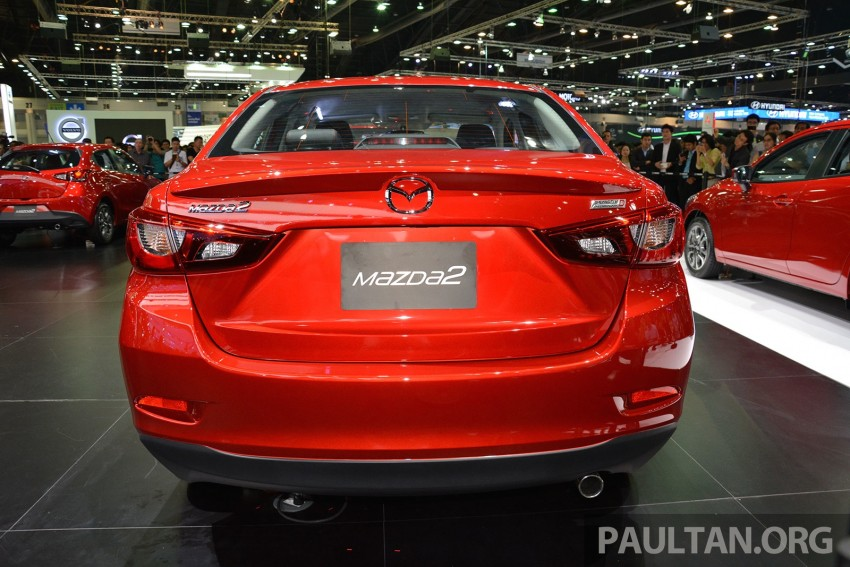 Mazda 2 Sedan unveiled at 2014 Thai Motor Expo! Image #292813