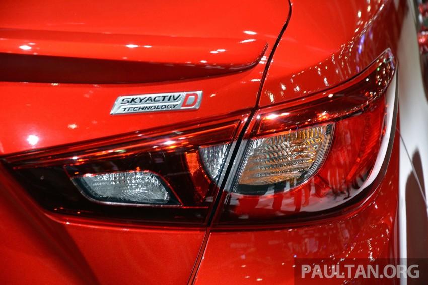 Mazda 2 Sedan unveiled at 2014 Thai Motor Expo! Image #292815