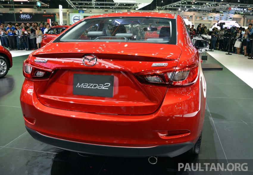 Mazda 2 Sedan unveiled at 2014 Thai Motor Expo! Image #292816