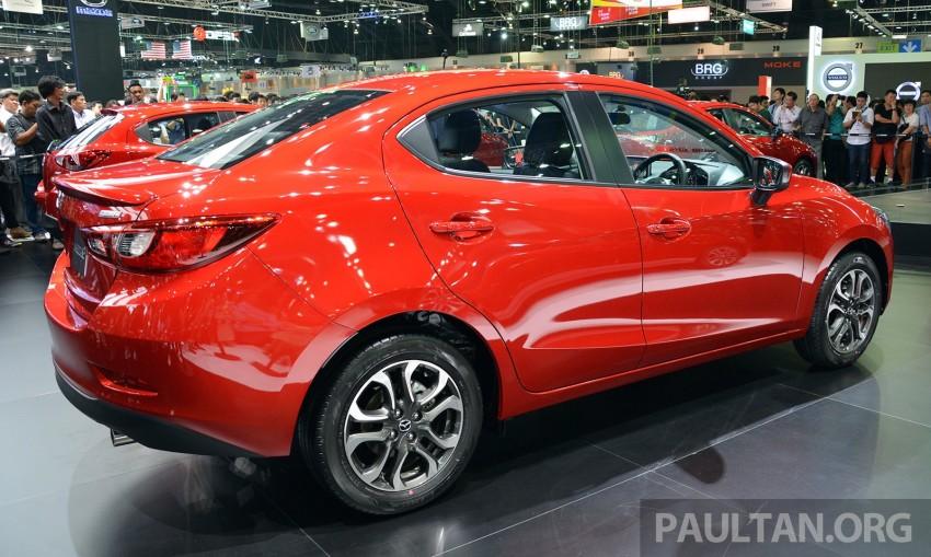 Mazda 2 Sedan unveiled at 2014 Thai Motor Expo! Image #292817