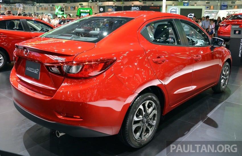Mazda 2 Sedan unveiled at 2014 Thai Motor Expo! Image #292818