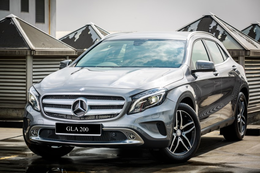 Mercedes-Benz GLA-Class SUV launched in Malaysia – GLA 200 ...
