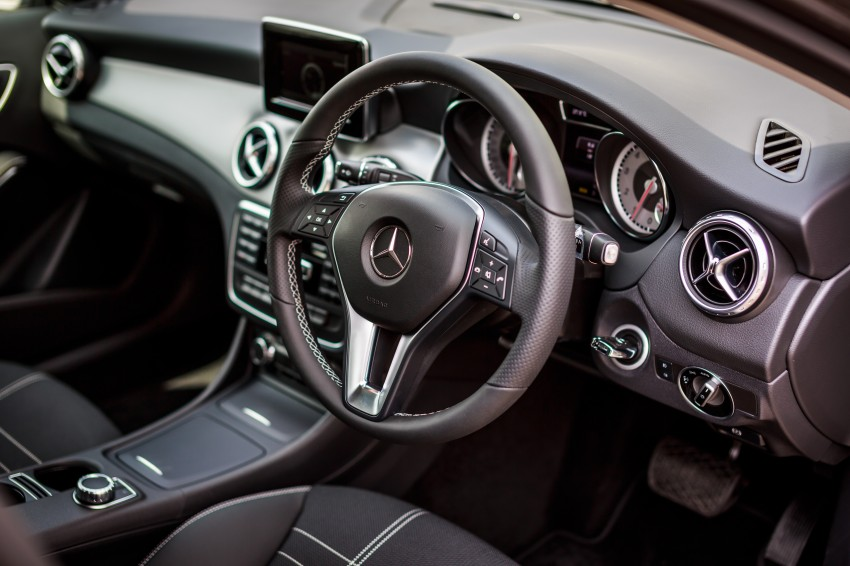 Mercedes-Benz GLA-Class SUV launched in Malaysia – GLA 200, GLA 250 and GLA 45 AMG, from RM239k Image #286517