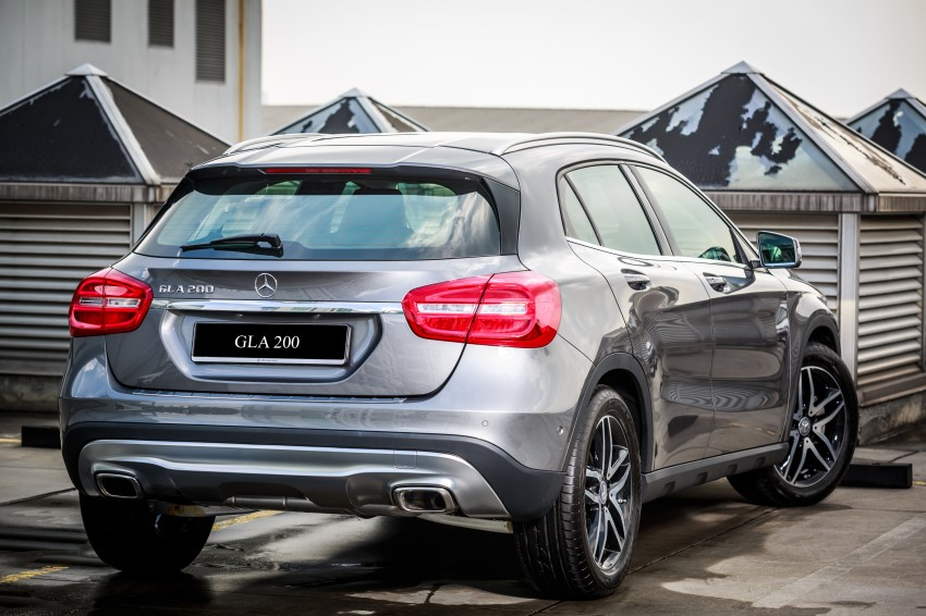 Mercedes Benz Gla Class Suv Launched In Malaysia Gla 200
