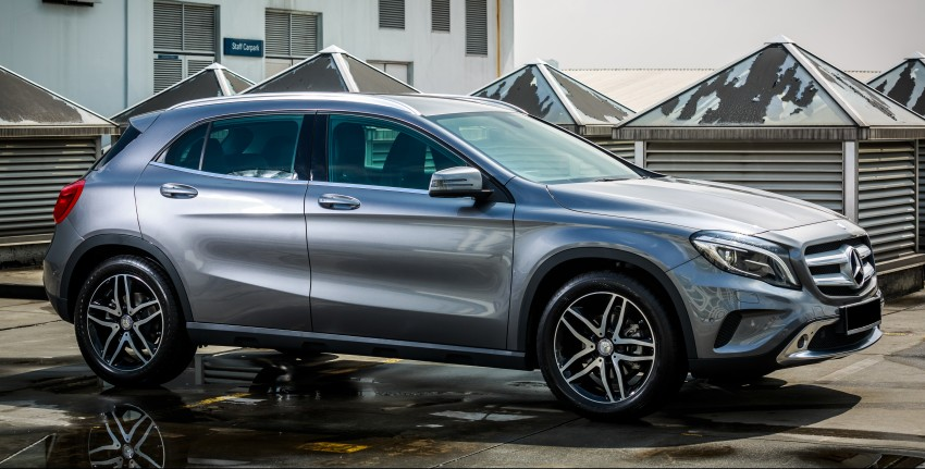 Mercedes-Benz GLA-Class SUV launched in Malaysia – GLA 200, GLA 250 and GLA 45 AMG, from RM239k Image #286537