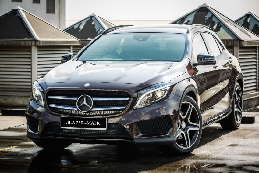 Mercedes benz gla class suv launched in malaysia gla 200 for Mercedes benz gla 250 price