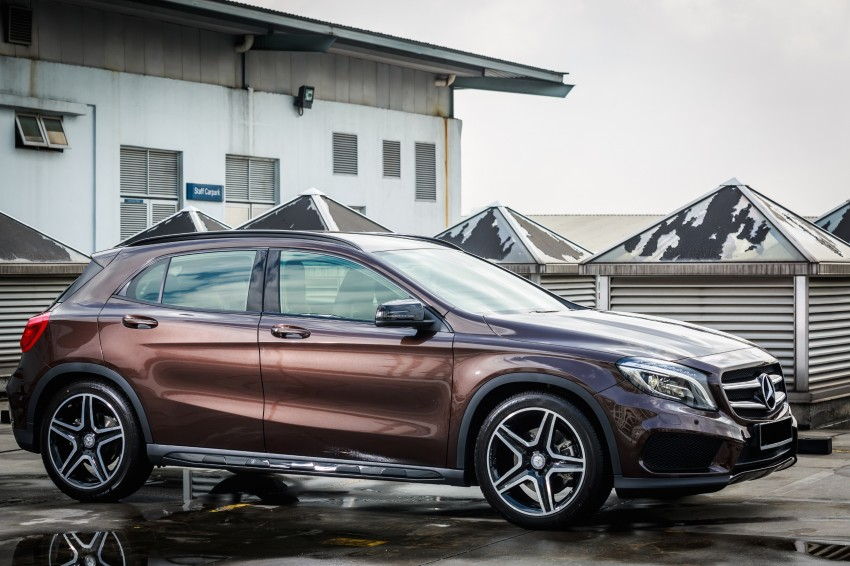 Mercedes-Benz GLA-Class SUV launched in Malaysia – GLA 200, GLA 250 and GLA 45 AMG, from RM239k Image #286570