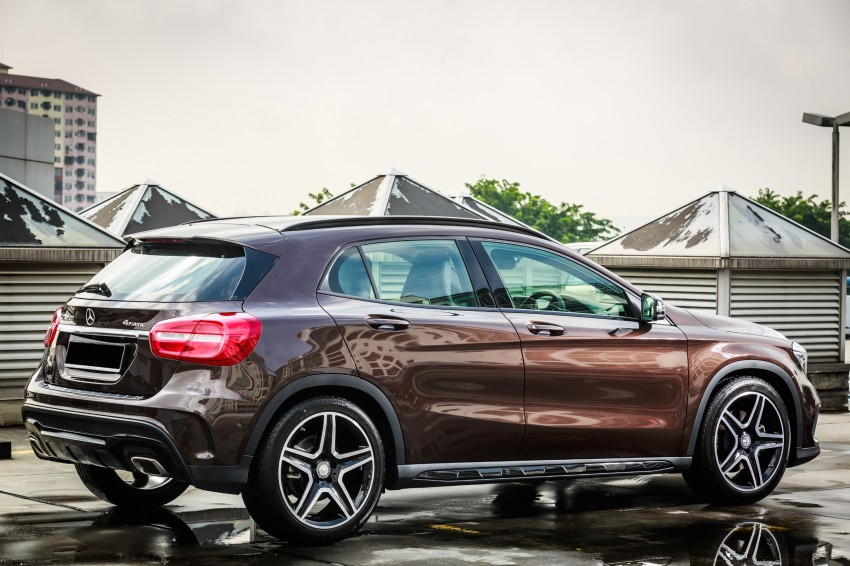 Mercedes-Benz GLA-Class SUV launched in Malaysia – GLA 200, GLA 250 and GLA 45 AMG, from RM239k Image #286571