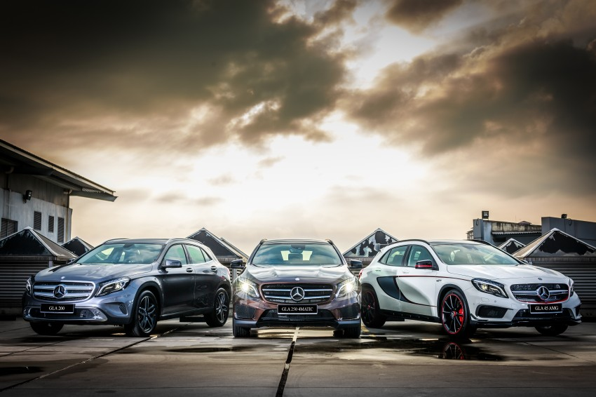 Mercedes-Benz GLA-Class SUV launched in Malaysia – GLA 200, GLA 250 and GLA 45 AMG, from RM239k Image #286600